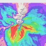 「火山重力流シミュレーション」