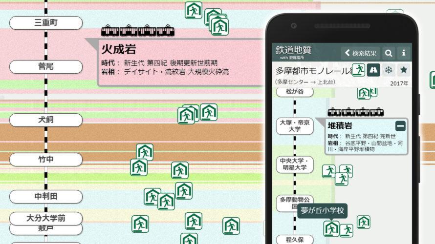 「鉄道地質 with 避難場所」